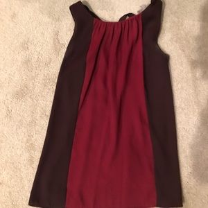 Ann Taylor loft purple and maroon top